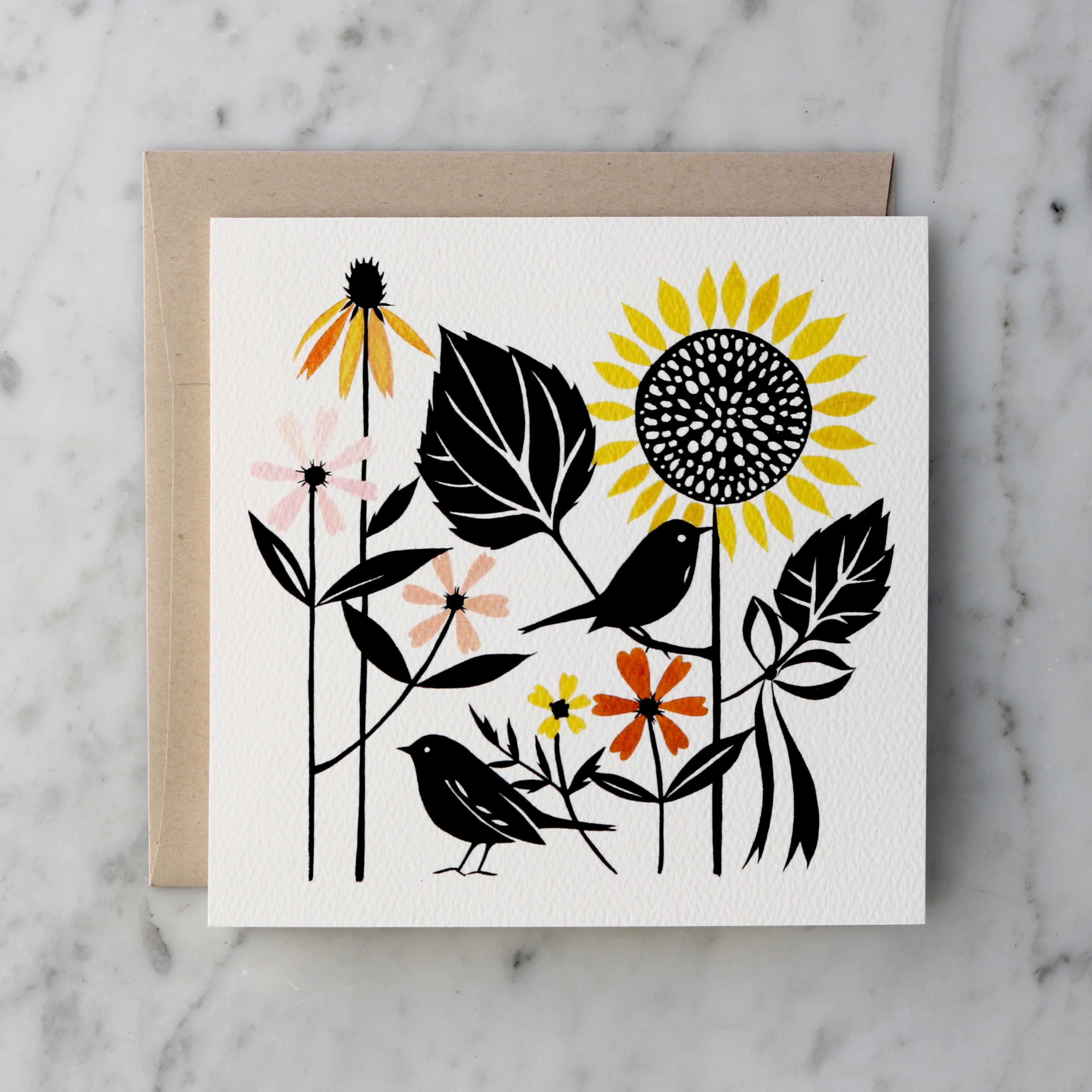 Secret Garden | Blank Greeting Card