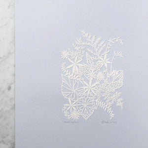 Spring Garden | Original Papercut Artwork
