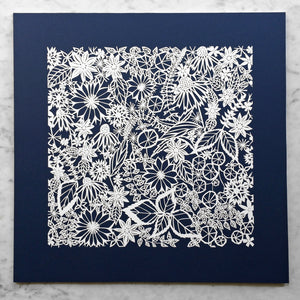 Summer Indigo | Original Papercut