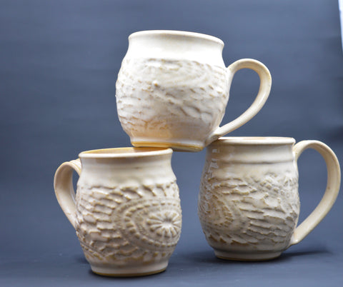 Lace Mugs in Alabama Rain