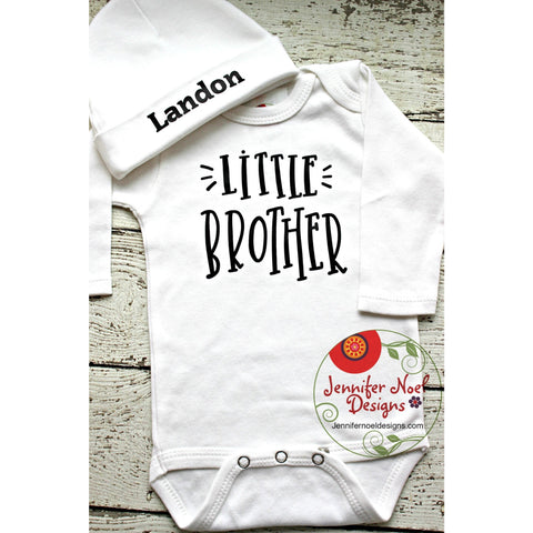 personalized boys take home outfit little brother