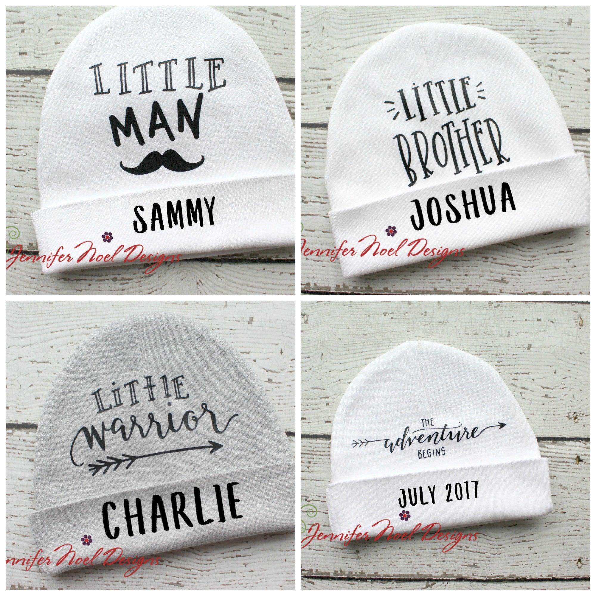 Little Brother Personalized Beanie - Jennifer Noel Designs