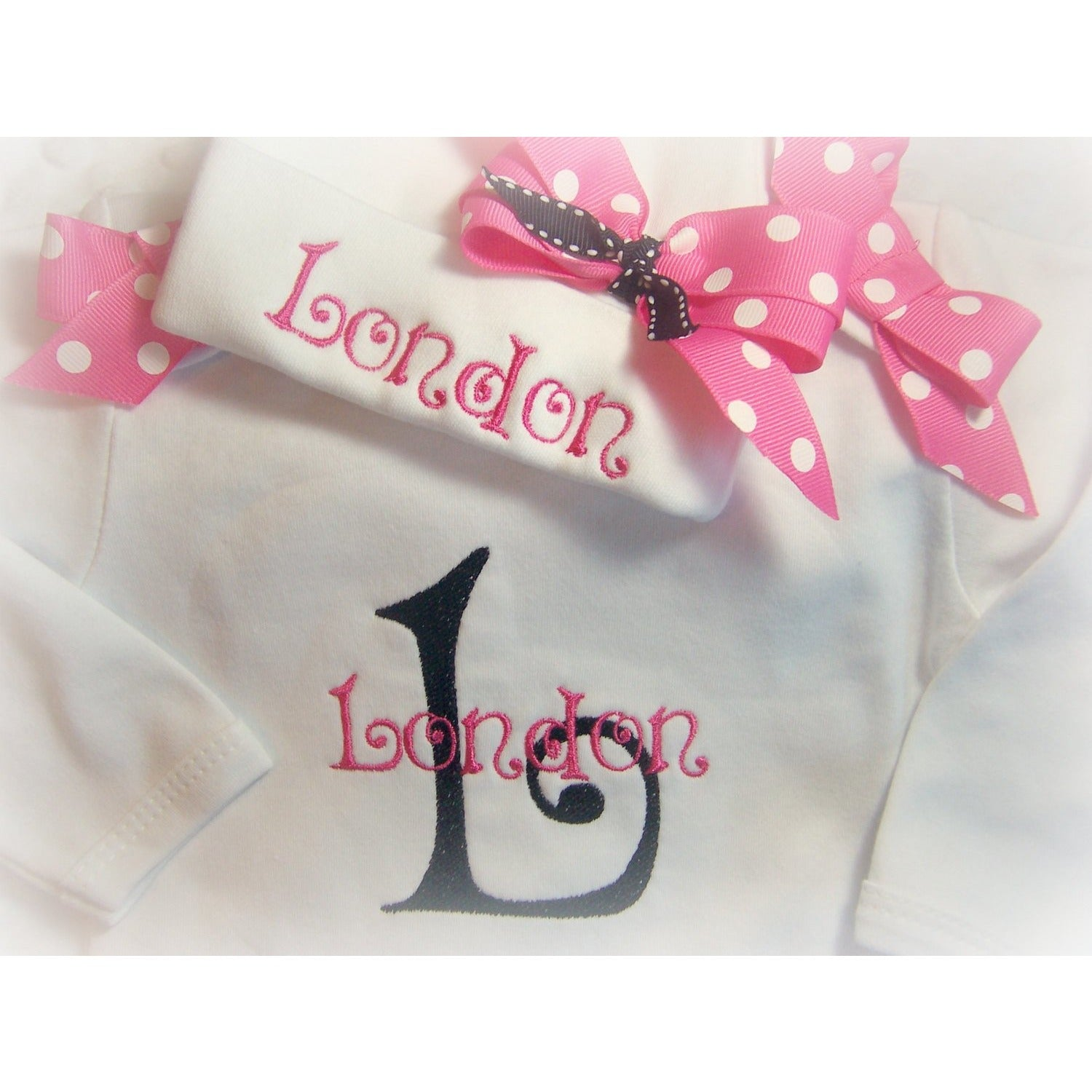 Personalized Coming Home Outfit for Girls - Jennifer Noel Designs