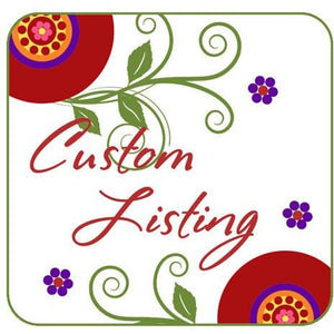 Rush order, with priority shipping - Jennifer Noel Designs