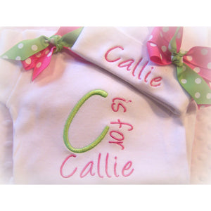 Personalized Baby Outfit - Jennifer Noel Designs