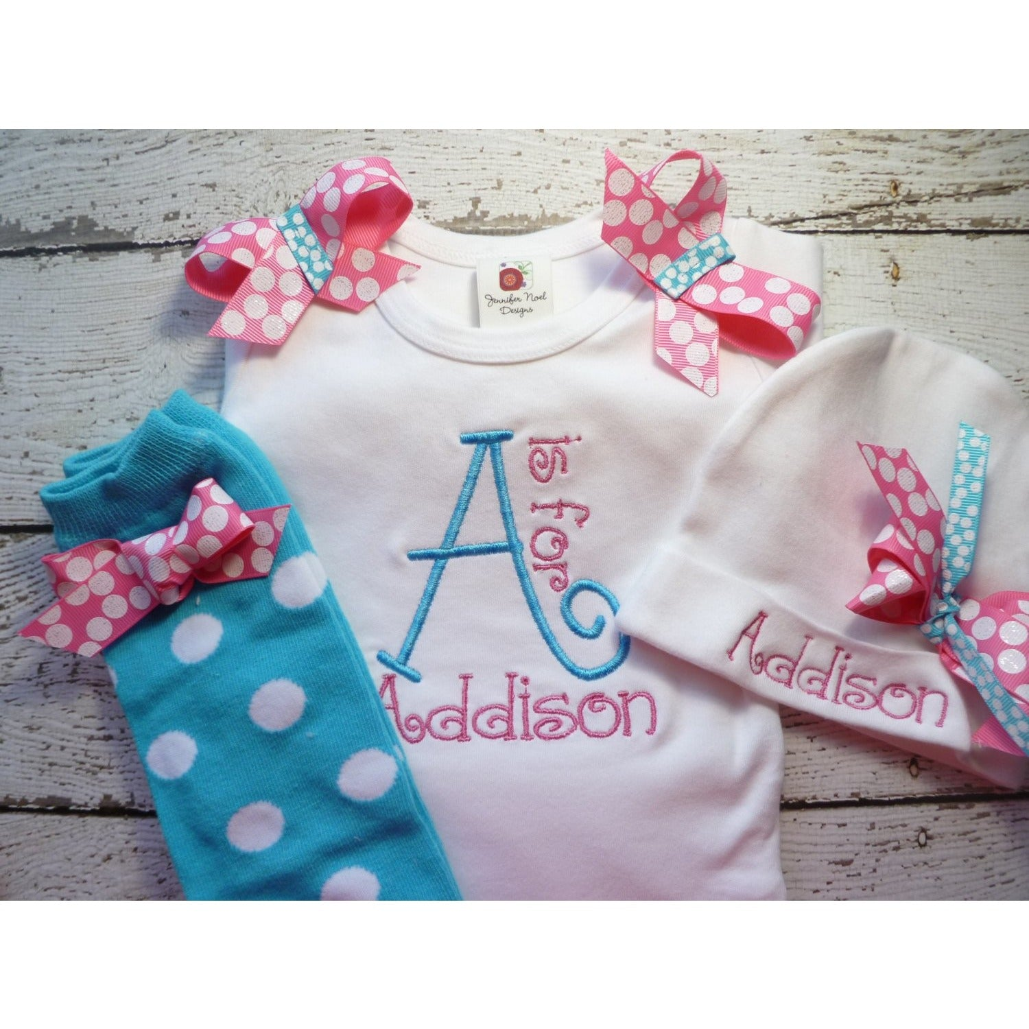 4b5355e59cf3b Newborn girl take home outfit, Personalized baby girl coming home ...