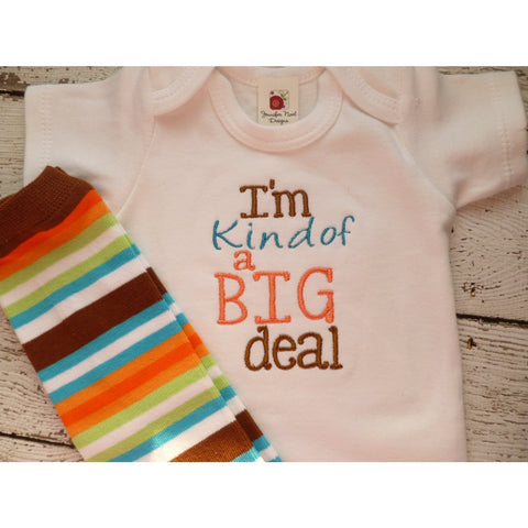 Personalized Coming Home Oufit, Take  Home From Hospital Outfit,  Layette Gown, or one piece, leg warmerst Set - Jennifer Noel Designs