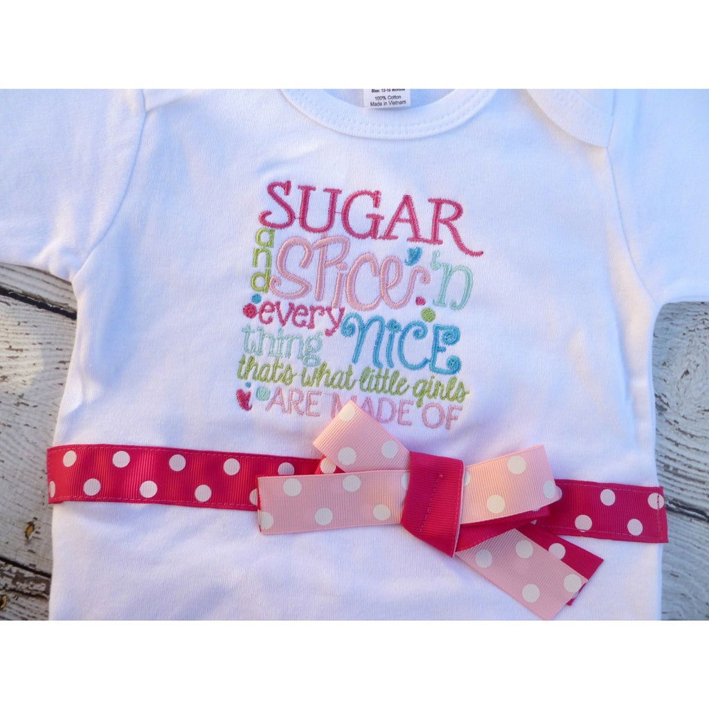 Sugar and Spice Baby Outfit - Jennifer Noel Designs