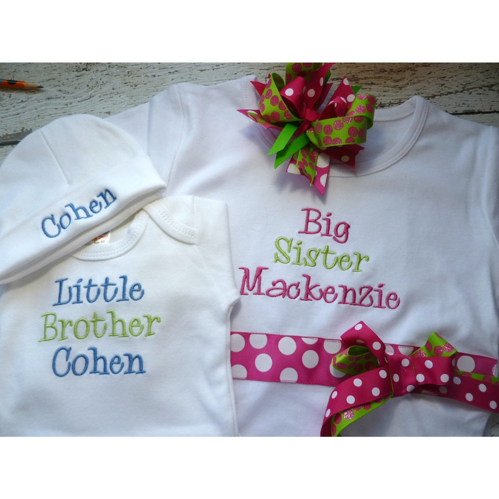 Personalized Sisters Shirts - Jennifer Noel Designs