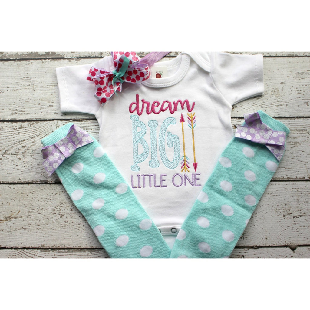 Dream Big Little One, Girls Take Home Outfit - Jennifer Noel Designs