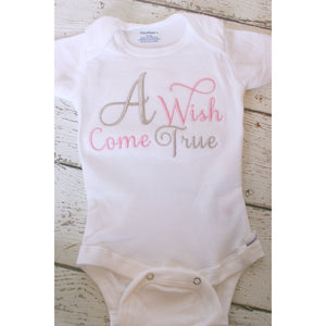 Newborn Take Home Outfit, A Wish Come True - Jennifer Noel Designs