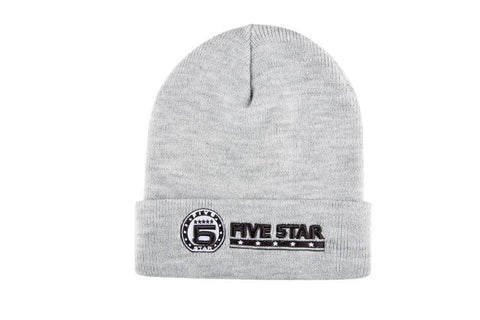 Grey Heather Logo Beanie