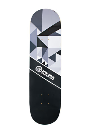 Abstract Series White Deck
