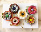 lapel pin collection by Rosy Posy Designs