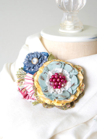 Colorful Flower Corsage