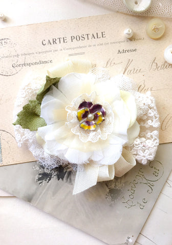 Bridal Belt Flowers