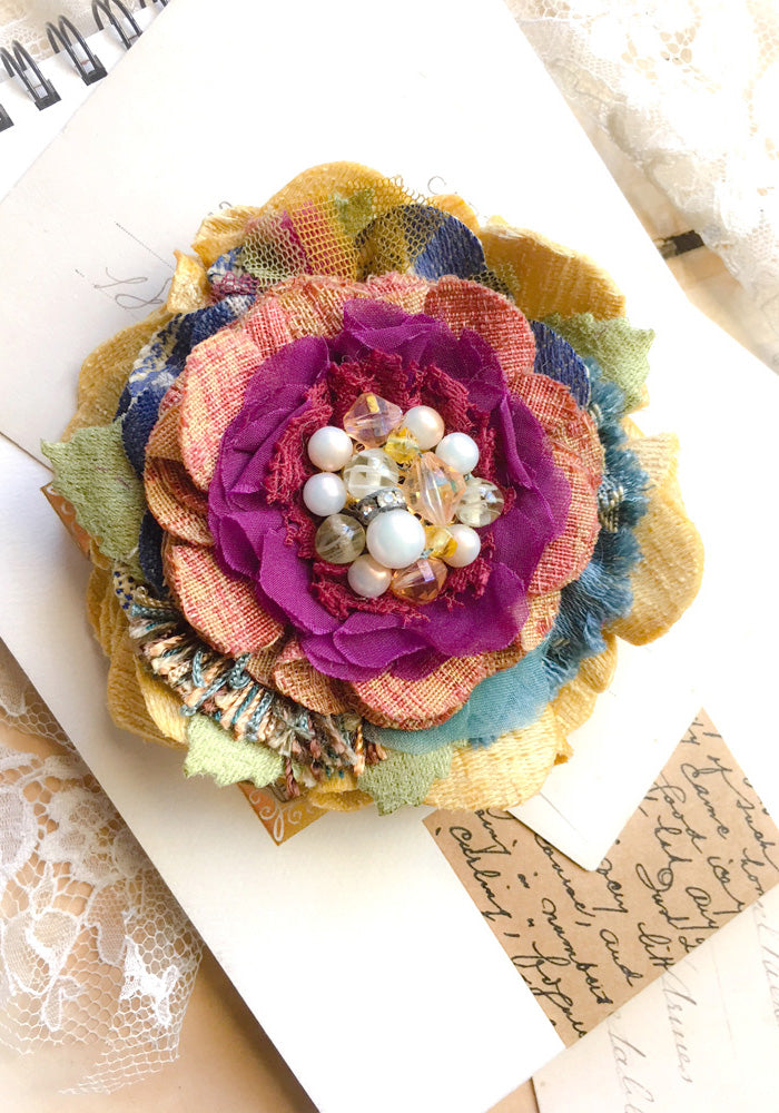 Colorful Blossom Pin