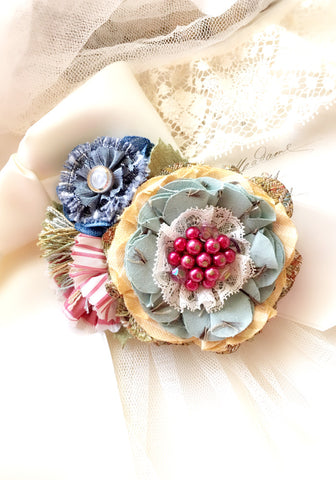 Colorful Corsage Pin