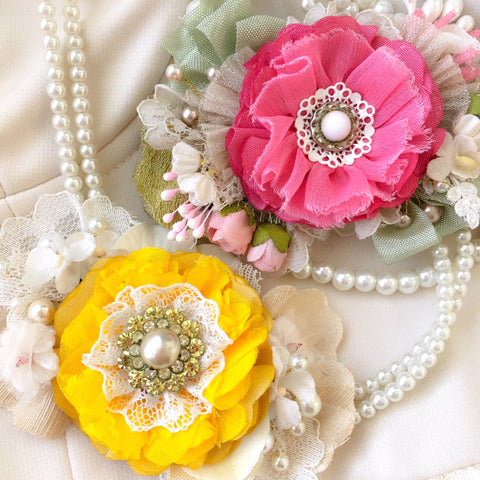 colorful bridal sashes