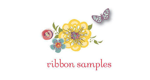 Satin Ribbon Sash Samples