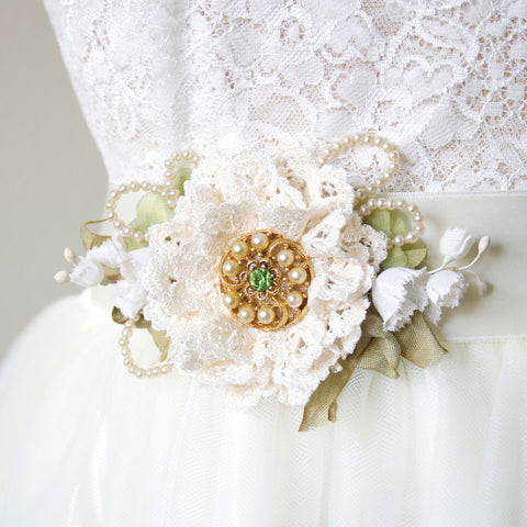 White Wedding Flower