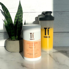 Mandarin & Turmeric - Ti Tonics® Collagen, White Tea Elixir
