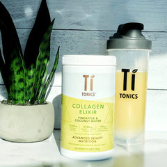 Pineapple & Coconut Water - Ti Tonics® Collagen, White Tea Elixir
