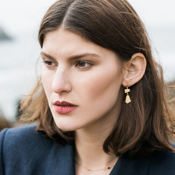 Small Sutro Statement Earrings
