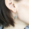 Long Comma Earrings