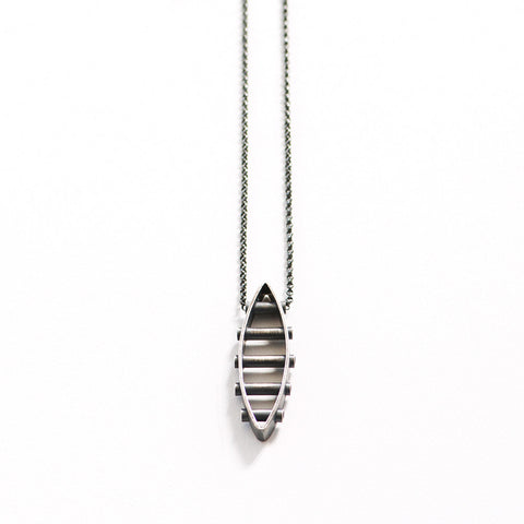 Five Tube Structure Necklace