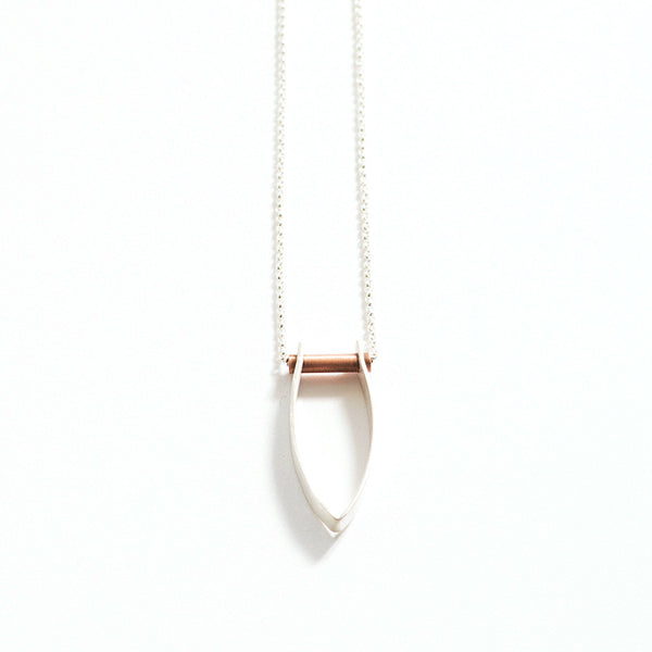 Copper Drop Necklace