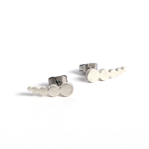 Tiny Dot Crawler Earring