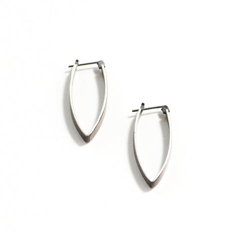 Peak Drop Hinge Hoop Earring
