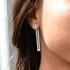 Long Link Jacket Earrings