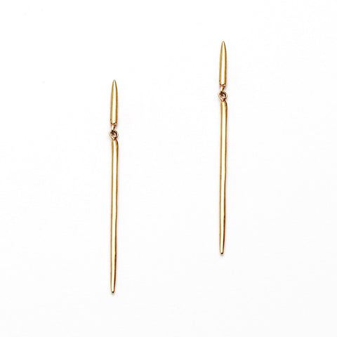 Simple Spike Dangle Earring