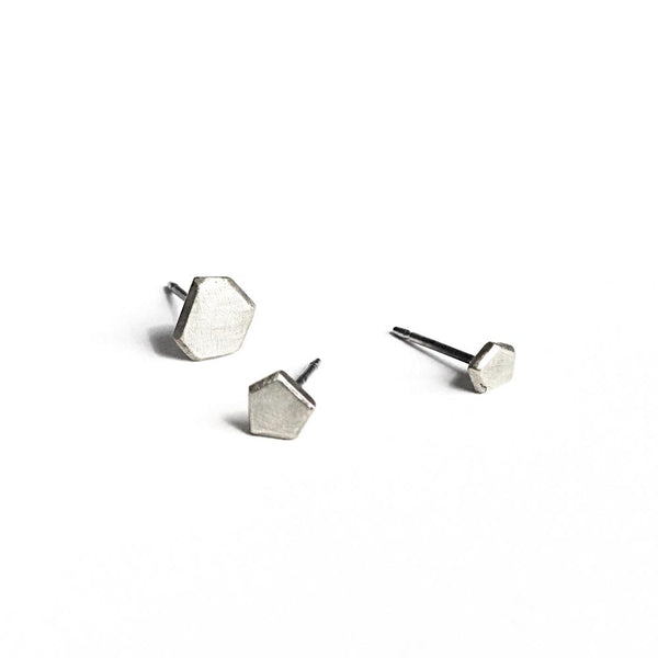 Assorted Stone Stud Earrings