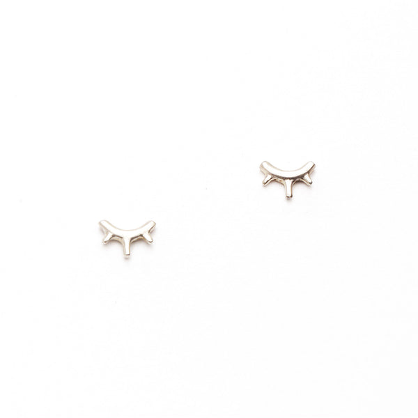 Tiny Burst Stud Earrings