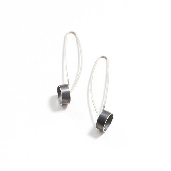 Modern Tube Dangle Earrings