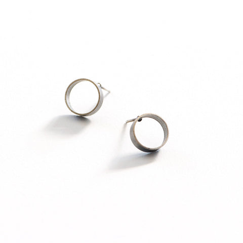 Open Tube Post Earrings
