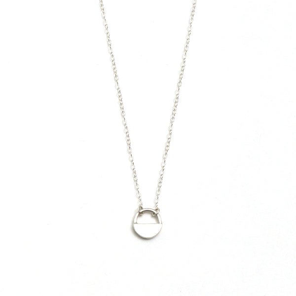 Tiny Full Circle Necklace