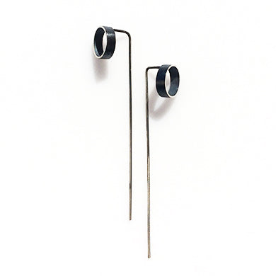 Industrial Tube Threader Earring