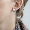 Peak Dangle Threader Earring