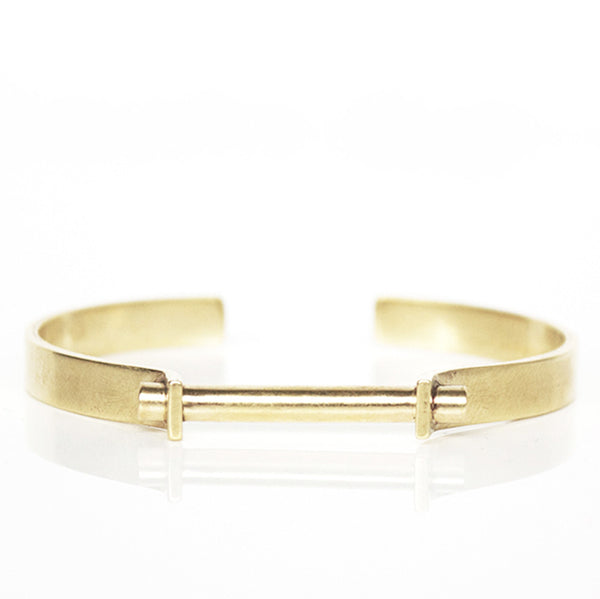Clamp Bracelet- Brass