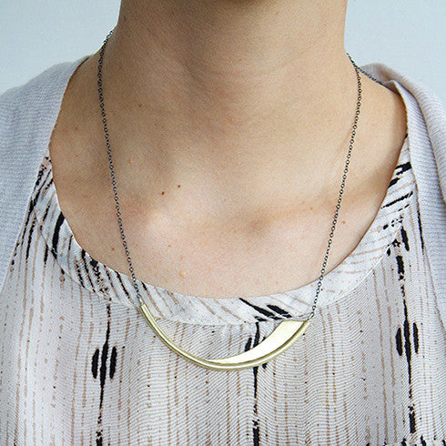 Minimalist Fin Necklace