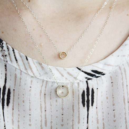 Stacking Tube Necklace