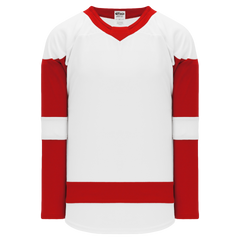 Athletic Knit (AK) H550B-756B 2017 Detroit Red Wings White Hockey Jersey