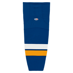Athletic Knit (AK) HS2100-448 2014 St. Louis Blues Royal Blue Mesh Cut & Sew Ice Hockey Socks