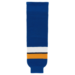 Athletic Knit (AK) HS630-448 2014 St. Louis Blues Royal Blue Ice Hockey Socks