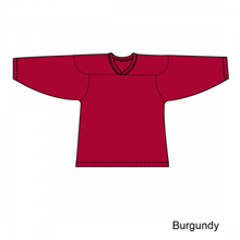 Kamazu FlexxICE Classic 10100 Burgundy Adult Hockey Jersey - PSH Sports
