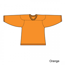 Kamazu FlexxICE Classic 10100 Orange Adult Hockey Jersey - PSH Sports